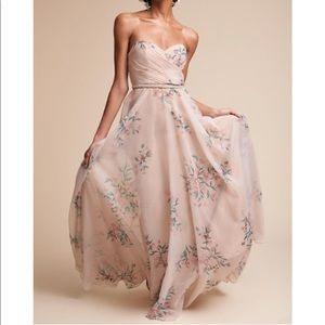 Jenny Yoo BHLDN Adeline dress floral bridesmaid 2